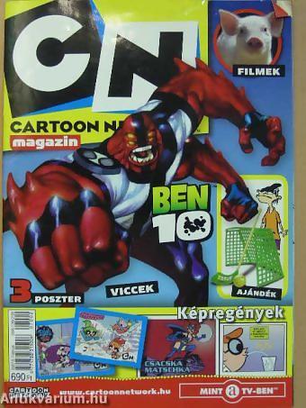 A Cartoon Network Magazin 2007. februári számának címlapja.
