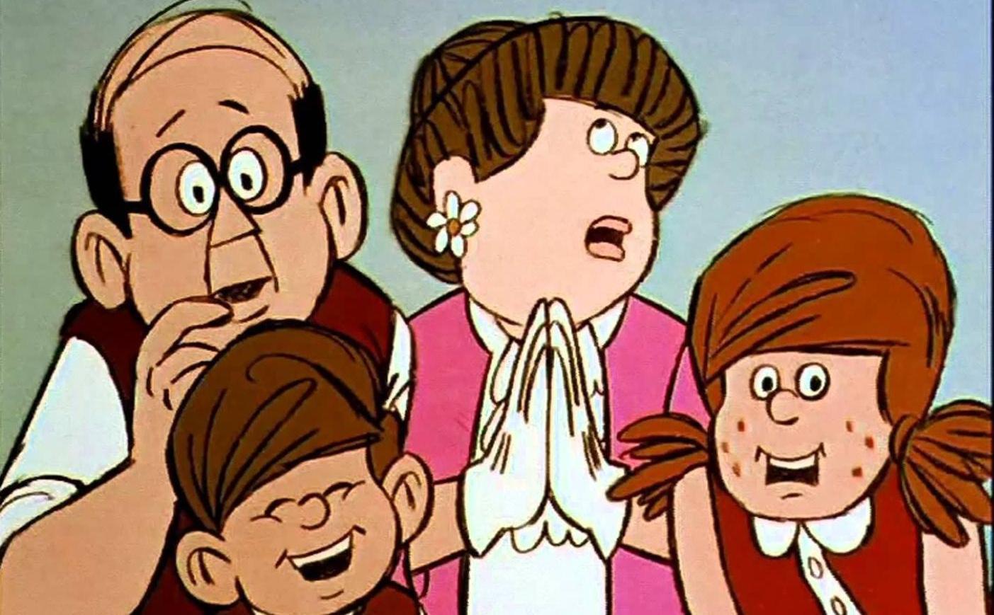 Mézga család